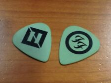 Foo Fighters Nate Mendel 2018 Tour Guitar Pick Green