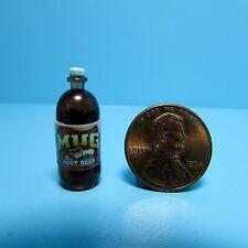 Dollhouse Miniature Replica 2 Litre Bottle of Mug Root Beer
