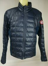 Canada Goose Hybridge Lite Men's Black Blue Packable Jacket Size Large