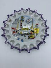 "Vintage 8"" Reno Nevada Souvenir Collectible Ceramic Plate"