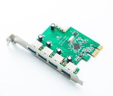 4 Port USB 3.0 PCI Express Card PC Karte Computer Controller Hub PCIe Adapter Ap