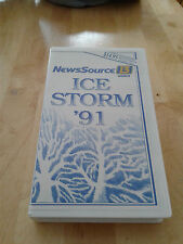 ICE STORM '91 Rochester, NY News Source 13 WOKR VHS March 1991 Storm Coverage