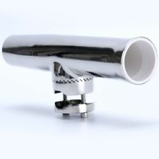 """Tournament Style316 Stainless Clamp on Fishing Rod Holder for Rails 1"""" to 1-1/4"""""""