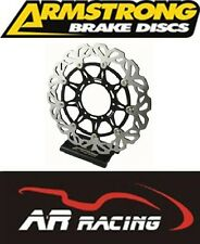 Ducati 999 / s / r 2003-2006 Armstrong Frontal Ondulado Disco De Freno (Single) (bkf760)