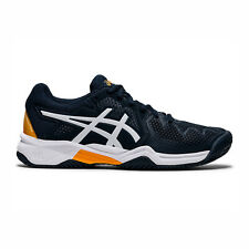 Asics GEL-Resolution 8 GS [1044A018-403] Kids Tennis Shoes French Blue / White