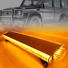 "48"" 88W LED Warning Light Bar Amber Strobe Beacon Recovery 1.2 Meter Yellow"