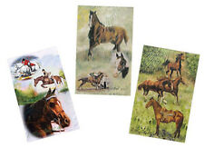 HORSE & WESTERN GIFTS  BY ARTIST RUTH MAYSTEAD THOROUGHBRED RACING PLAYING CARDS