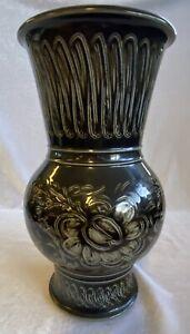 Royal Doulton Agnete Hoy (1914-2000) Brown Glazed Studio Pottery Stoneware Vase