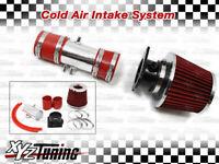 "RED 98-02 Cougar/Mystique 2.5L V6 Short Ram Air Intake System + Filter 2.75"""