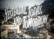 "16mm feature cine film, Yesterday, Today, and Tomorrow"" with Sophia Loren Colour"