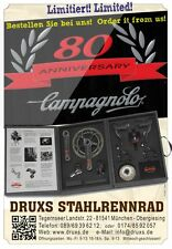 Flyer Campagnolo Super Record Titanium 80th Anniversary Groupset in Case NEW