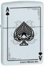 Zippo 8528 ace of spades white Lighter