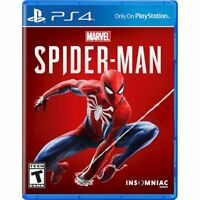Marvel's Spider-Man - PlayStation 4 - PS4 Game Disc (Latest 2018 Version)