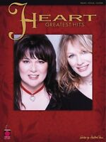 Heart Greatest Hits Sheet Music P V G Piano Vocal Guitar Songbook NEW 002500386