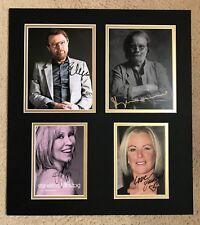 ABBA FULLY SIGNED DISPLAY - UACC & AFTAL RD AUTOGRAPH - AGNETHA FALTSKOG FRIDA