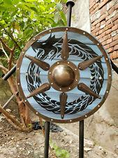 Designer Medieval Viking Shield Round Wooden Armor Shield