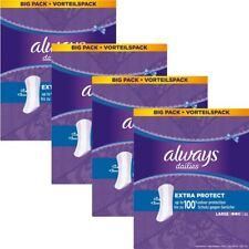 Always Dailies Panty Liners Large Extra Protection Odour Neutralising - 208 Pack