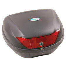 Oxford First Time Luggage Essential Motorcycle Motorbike Top Box 24 Ltr | Black