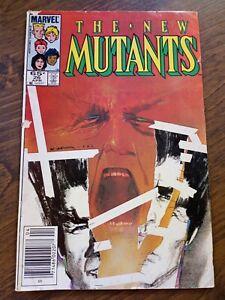 The New Mutants #26 (April 1985, Marvel) MID GRADE