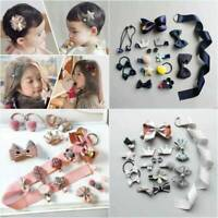 1 Set Hairpin Baby Girl Hair Clip Bow Flower Mini Barrettes Star Kids Infant *18