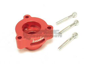 Boomba Turbo Blow Off Valve Adapter BOV Red 15-18 Ford Mustang 2.3L Ecoboost NEW
