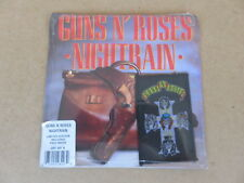 "GUNS N' ROSES Nightrain / Reckless Life 7""  SEALED 1989 ORIGINAL & PATCH GEF60X"