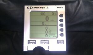 Concept 2 PM4 Rowing Machine Rower Monitor - 3 Month Warranty