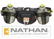Nathan Trail Mix Running Hydration Two 10oz/300mL iPhone MP3 Pocket Waist Belt
