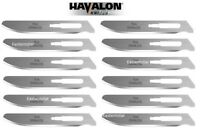 "Havalon Knives #70A Stainless Steel Blades Piranta 12 Pack 2-3/4"" 2.75"" SSC70ADZ"