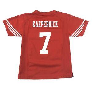 Nike On Field Colin Kaepernick Youth Medium #7 49ers V Neck Jersey Shirt NFL