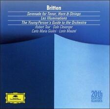 Britten Serenade Les Illuminations Young Person's Guide to the Orchestra Maazel