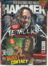 METAL HAMMER MAGAZINE, THE HEAVY METAL BIBLE   APRIL, 2014   FREE CD + 12 POST