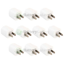 10 USB Battery Home Wall AC Charger Adapter for Apple iPhone 2G 3G 3GS 4 4G 4S