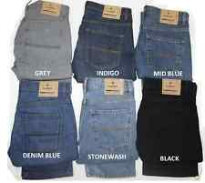 Ex M&S Mens Jeans Straight Leg Stretch Trousers Pants Reg Fit Marks & Spencer