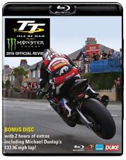 TT 2016 OFFICIAL REVIEW ISLE of MAN Tourist Trophy MICHAEL DUNLOP - NEW BLU-RAY