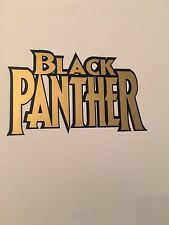 Gold Black Panther Custom Laptop Wall Removable Decal Sticker 1pc Free Shipping