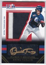 2017 USA STARS & STRIPES BRICE TURANG GOLD AUTO 3-COLOR PATCH RELIC RC SSP #7/10