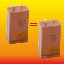 4 uF 200 V Matched Russian Paper In Oil Pio Audio Capacitors Okbg-Mn ОКБГ-М�