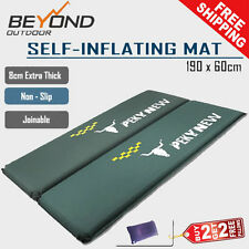 2x Camping Travel Self Inflating Sleeping mat Mattress 8CM