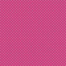 Baumwollstoff Pünktchen Pink METERWARE Webware Popeline Stoff Dots