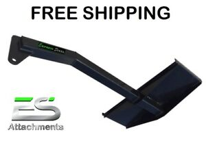 FREE SHIPPING - ES TREE BOOM/JIB POLE SKID STEER QUICK ATTACH TRACTOR LOADER