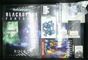 Warhammer 40k Blackstone Fortress Game Components Rules Cards Tiles etc NO MINIS
