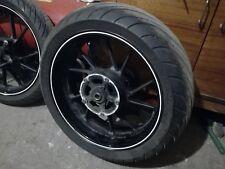 2014 YAMAHA MT-07 rear wheel rim tyre