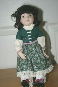 """13"""" collector doll with stand"""