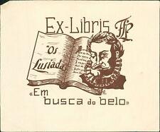 Ex Libris. Os Lusíadas. Portugal Em busca do belo    QE.551
