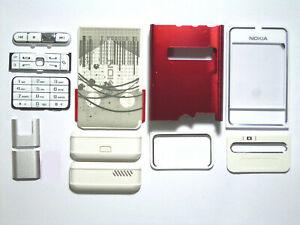 white Case Housing Cover Facia Fascia Faceplate for nokia 3250