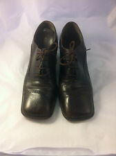 Enzo Angiolini Brown Oxford with heel 6.5M
