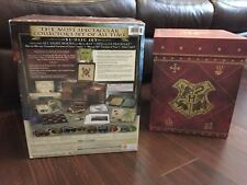 Harry Potter Blu Ray ULTIMATE 'Wizard's Collection' 31 Disc Blu Ray/DVD RARE