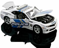 CHEVROLET CAMARO SS RS POLICE 1:18 Scale NEW Diecast Model Toy Miniature Car
