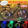 2Pcs Bike Wheel Spoke LED Night Light Bicycle Cycling Safety Tire Wire Tyre Lamp